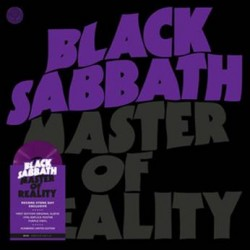 BLACK SABBATH : LP Master of Reality (2021)