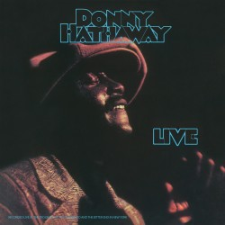 HATHAWAY Donny : LP Donny Hathaway Live
