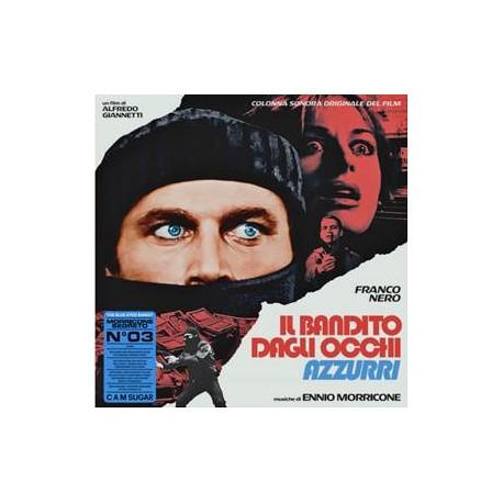 """MORRICONE Ennio : LP Il Bandito Dagli Occhi Azzurri """"The Blue-Eyed Bandit"""""""