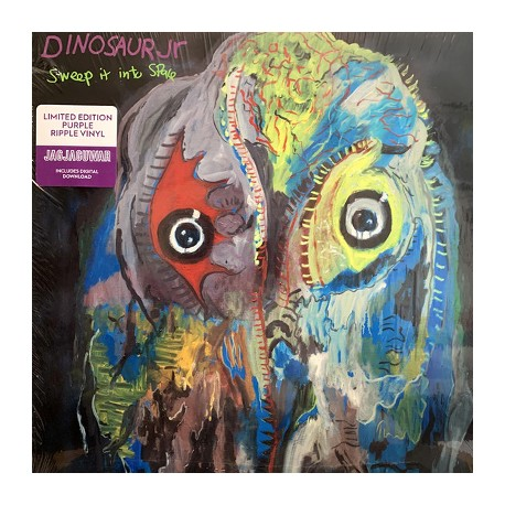 DINOSAUR JR : LP Sweep It Into Space (purple)