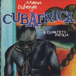 DIBANGO Manu / EL CUARTETO PATRIA : LP Cubafrica