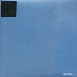"""NEW ORDER : 12""""EP Be A Rebel"""