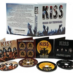 "KISS : CDx4 Gods Of Thunder ""THE LEGENDARY BROADCASTS"""