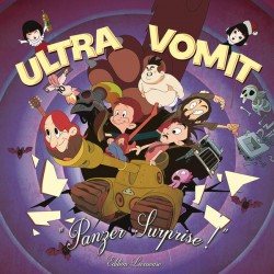 ULTRA VOMIT : LP+DVD Panzer Surprise! Edition Luxueuse