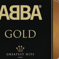 ABBA : LPx2 Gold (Greatest Hits) - (colored)