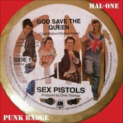 MAL-ONE : Punk Badge