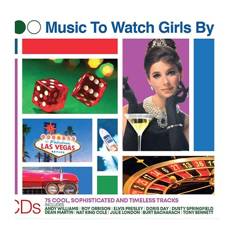 VARIOUS : CDx3 Music To Watch Girls By (75 Cool, Sophisticated And Timeless Tracks)