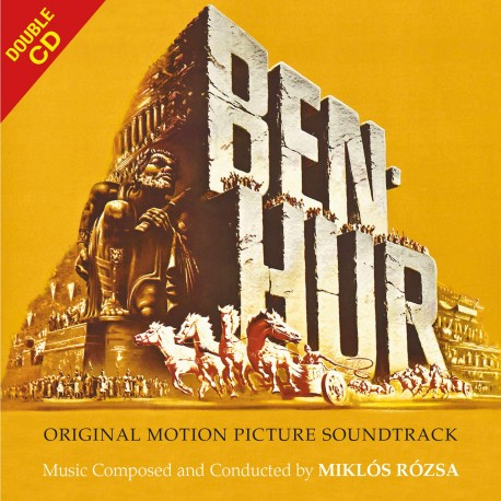 ROZSA Miklos : CDx2 Ben-Hur