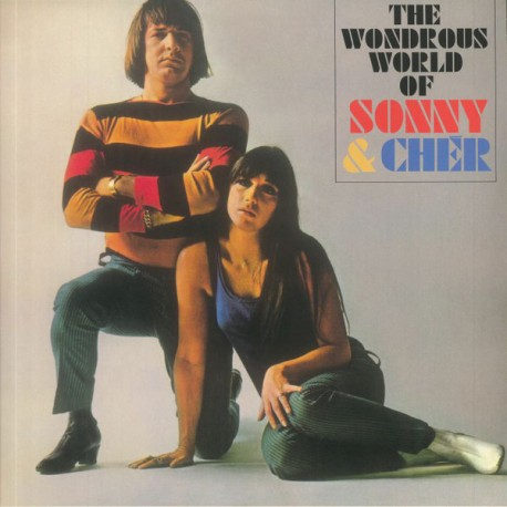 SONNY & CHER : LP The Wondrous World Of Sonny & Cher
