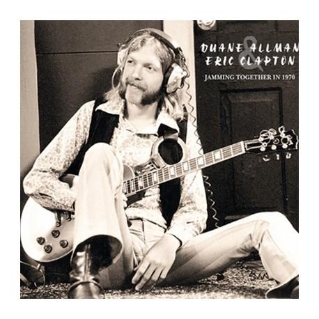 CLAPTON Eric / ALLMAN Duane : LP Jamming Together In 1970