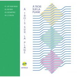 A TROIS SUR LA PLAGE : K7 À Trois Sur La Plage