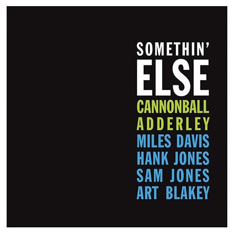 CANNONBALL ADDERLEY : LP Somethin' Else (Blue)