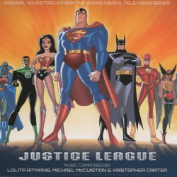 OST : CDx4 Justice League (Original Soundtrack From The Warner Bros. Television Series)
