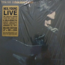 NEIL YOUNG : LP+CD+DVD Young Shakespeare