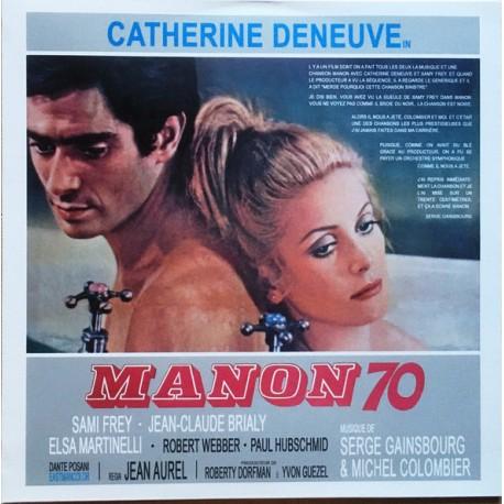 GAINSBOURG Serge : LP Manon 70 / Ce Sacré Grand-Père...