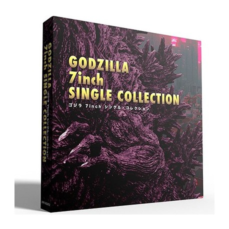 """OST : 7""""EPx9 Godzilla 7inch Single Collection"""