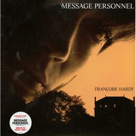 HARDY Françoise : LP Message Personnel