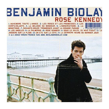 BIOLAY Benjamin : LPx2 Rose Kennedy