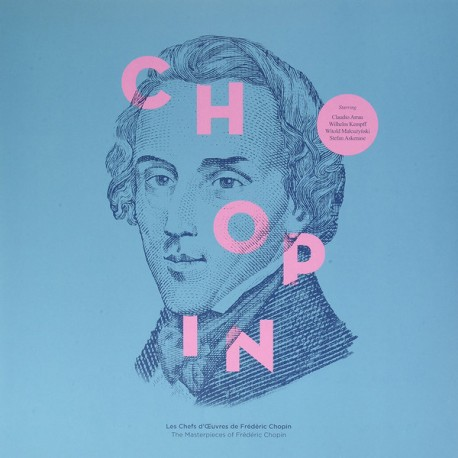 CHOPIN Frederic : LP Les Chefs D'Œuvres De