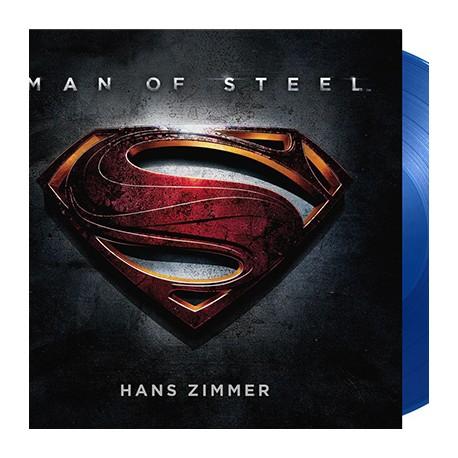 ZIMMER Hans : LPx2 Man Of Steel (blue)