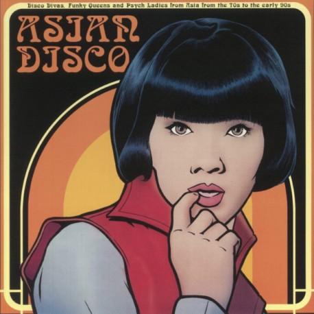 VARIOUS : LP Asian Disco