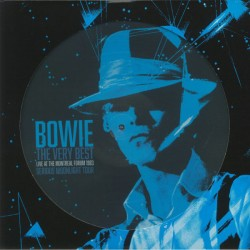 BOWIE David : LP Picture The Very Best - Live At The Montreal Forum 1983 Serious Moonlight Tour