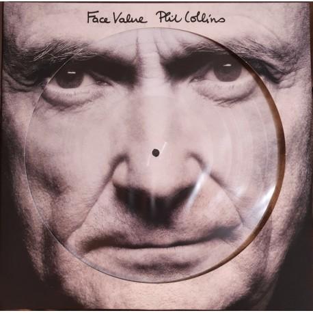 COLLINS Phil : LP Picture Face Value