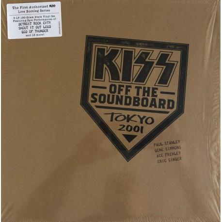 KISS : LPx3 Off The Soundboard Tokyo 2001