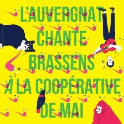 VARIOUS : LP Picture L'Auvergnat Chante Brassens A La Coopérative De Mai