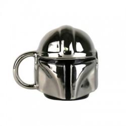 STAR WARS MINI MUG : Mandalorian Mini Mug (Electroplated)