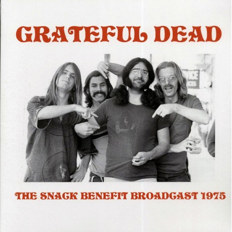 GRATEFUL DEAD : LP The Snack Benefit Broadcast 1975