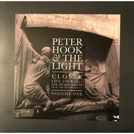 HOOK Peter : LP Closer Live Tour 2011 Live In Manchester Volume One