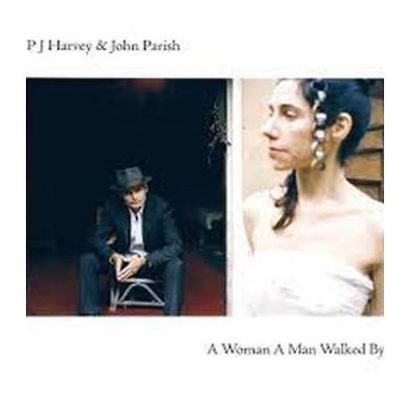 PJ HARVEY / PARISH John : LP A Woman A Man Walked By
