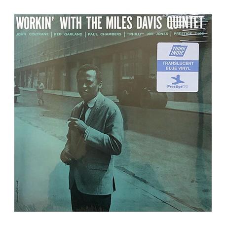 MILES DAVIS : LP Workin' With The Miles Davis Quintet (Prestige - color)