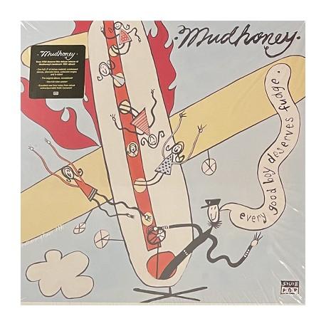 MUDHONEY : LPx2 Every Good Boy Deserves Fudge (color)