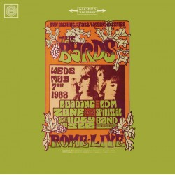 BYRDS (the) : LP Live in Rome 1968