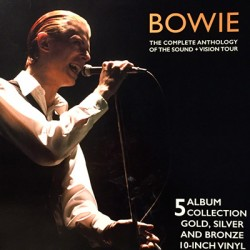 """BOWIE David : 10""""LPx5 The Complete Anthology Of The Sound - Vision Tour"""