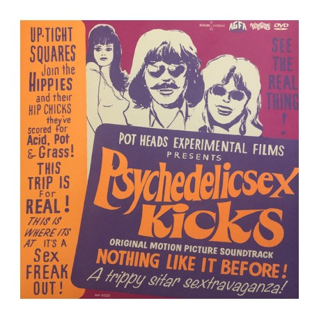 OST : LP+DVD Psychedelic Sex Kicks