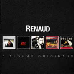 RENAUD : CDx5 5 Albums Originaux