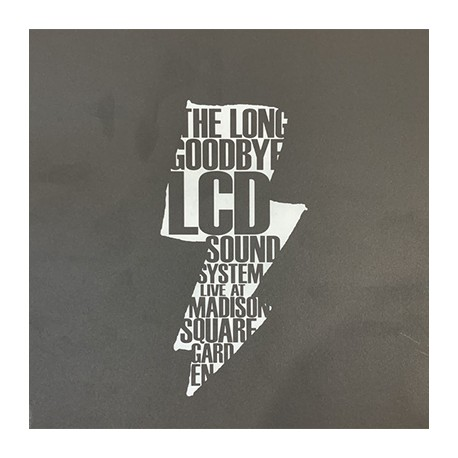 LCD SOUNDSYSTEM : LPx5 The Long Goodbye (Live At Madison Square Garden)
