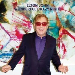 JOHN Elton : LP Wonderful Crazy Night