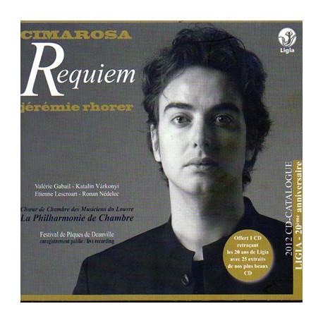 CIMAROSA Domenoco / RHORER Jeremie : CDx2 Requiem