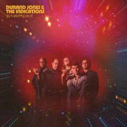 DURAND JONES : LP Private Space (Red Nebula)