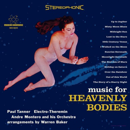 TANNER Paul : LP Music For Heavenly Bodies