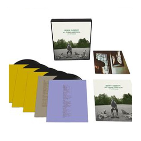 HARRISON George : LPx5 All Things Must Pass Edition Limitée Coffret Deluxe