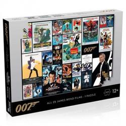 JAMES BOND : Puzzle Affiches de Films 1000 pièces...