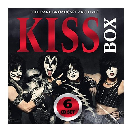 KISS : CDx6 Box (The Rare Broadcast Archives)