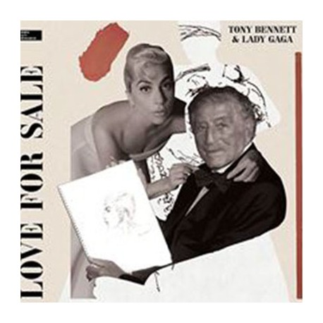 TONY BENNETT & LADY GAGA : LP Love For Sale
