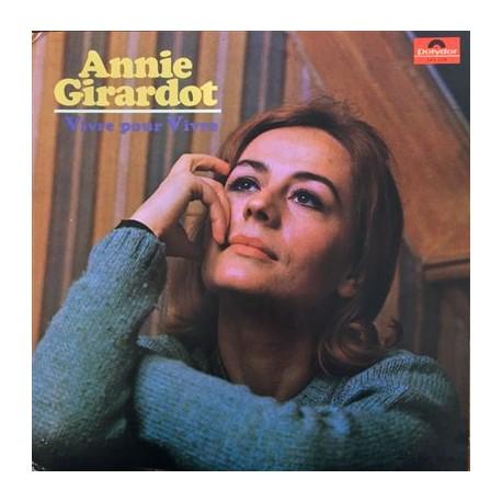 GIRARDOT Annie : LP Vivre Pour Vivre