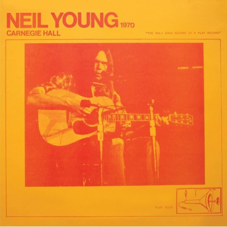 NEIL YOUNG : LPx2 Carnegie Hall 1970